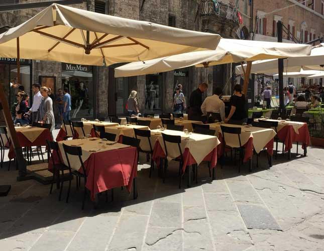 Menu Gourmet nel centro storico di Perugia